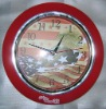 "10"",12"" plastic wall clock, with cheap price"