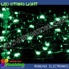 waterproof outdoor green color led string christmas tree lights