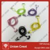 cute design colorful usb data cable for iphone