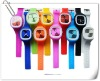 fashion desig silicone quartz watch