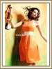 2012 On Sale Hot Strapless Formal Orange Cocktail Dress Mid Lenght With Ruched