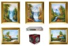 Landscape Painting Wall Hanging Flat-panel Speaker