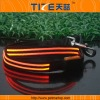 Nylon dog leash TZ-PET5001O LED dog leash Waterproof,bright colorful LED light.