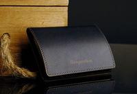 Men Business Metal Box Credit Card Holder Case