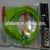 the green and with the Japandse standard extension cord