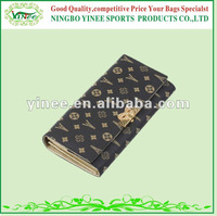 Latest Deign Fashion Good Quality PVC Ladies wallet bag