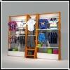 HS-garment rack
