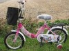 "2012 16"" NEW FASHIONABLE PINK FOLDING BIKE FOR BABY GIRLS"