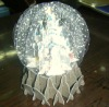 3D snow globe christmas greeting cards