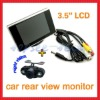"Hot selling car reversing parking system 3.5"" desktop tft lcd monitor +Plug-in back up camera"