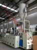 PE water drainage pipe extrusion machine