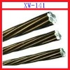 XW141 zinc 10% aluminum alloy coated steel wire rope