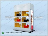 hangbag store Wall Display Unit with Shelves