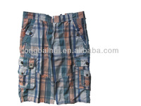 men's fashion cargo shorts on factory supply