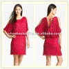 Sequin Cold Shoulder Boutique Dresses (20740#)