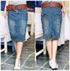 2012 Fashion A-Line Denim Skirts(CN1249)