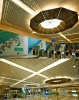 Suspended Aluminum Linear Open Ceilings( Dubai Metro Red Line )
