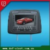 7inch cover headrest dvd with game and USB&SD