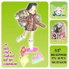 9.5 inch doll pretty girl play set/fashion doll
