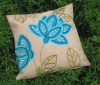 embroidery and applique cushion cover