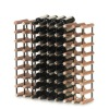 Metal material wine rack