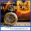 New Design Silver Plated Pocket Watch From The Hunger Game