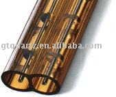 twin quartz tube heater