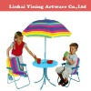 colorful kis picnic folding chair and table
