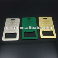 Metal Beer Bottle Opener Keychain/Keyring for Business Promotion