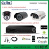 Wholesale China Professional cctv systems camera and dvr with white light new technology