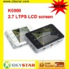 2012 NEW K6000 2.7 LTPS LCD screen 7725Lens support many languages CAR DVR