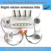 4 cameras 1 receiver 2.4GHz wireless camera kits