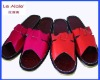 summer leather house slippers