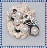 New Design Baroque Freshwater Pearl Brooches BR260