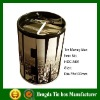 Money tin box with customized printing