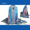 New Design Peacock Pashmina Scarves Wholesale
