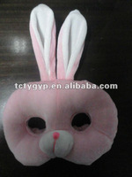 plush rabbit mask
