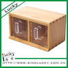 convenient wooden spice box