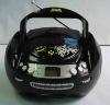 Portable radio CD boombox