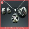 Wholesale women stainless steel jewelry sets