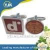 Custom elegant design metal men's shirt cuff links