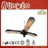 NEW!! Parasol Electric Patio Heater With Ceiling Mounting Chain Like A Wind Fan