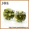 925 Sterling Silver Fashion Jewelry Stud Cubic Zirconia Earrings