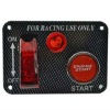Racing Ignition Switch Panel Engine Start Button