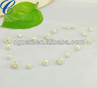 Simple Beautiful Necklace Chain Pearl Necklace