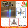 modern basin led flashing waterfall faucet for home