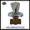 Brass Non-rising Valve for water, chrome plated zink head