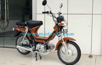 50CC gas moped with pedal