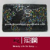 Jewelled evening bags World map priting DL-CA12724