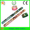 High quality with hot stamping and best selling silicone wristbands